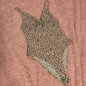 Cheetah Print Body Suit